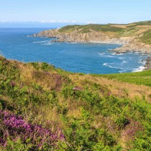 July: Bull Point from Morte Point near Woolacombe