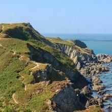 September: Coastal Path at Lee near Ilfracombe