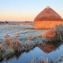 December: Round Linhay on Braunton Marshes