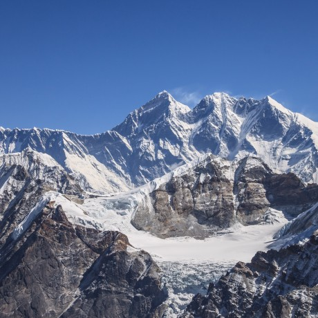 Mount Everest from the Mera Glacier