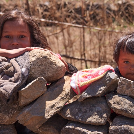 Children at Lukla