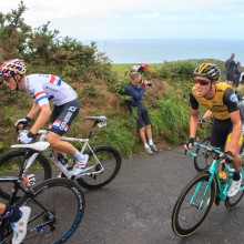 September: Tour of Britain 2018 tackling Challercombe Hill