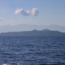 Milazzo from boat to Lipari