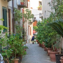 Backstreet of Lipari