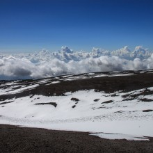 View south from Mt Etna