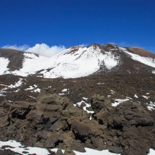 Summit of Mt Etna